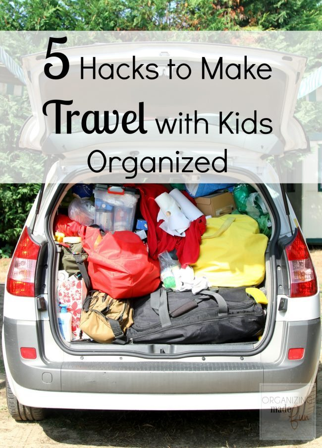 suitcases and bags in the trunk of the car before leaving after the holidays