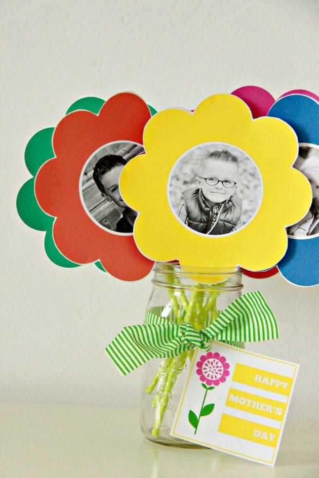 Photo Paper Flower Bouquet 10