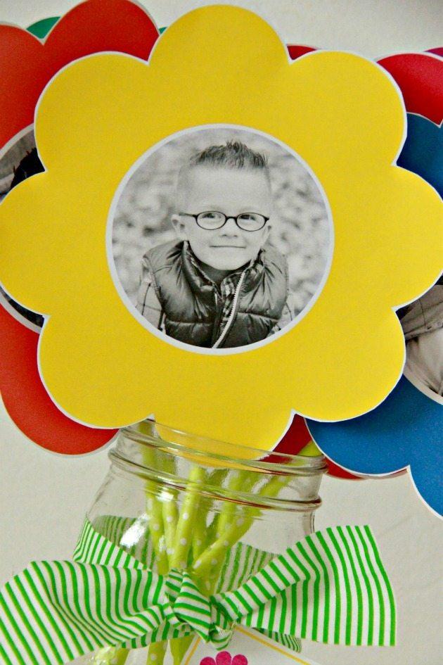 Photo Paper Flower Bouquet 3