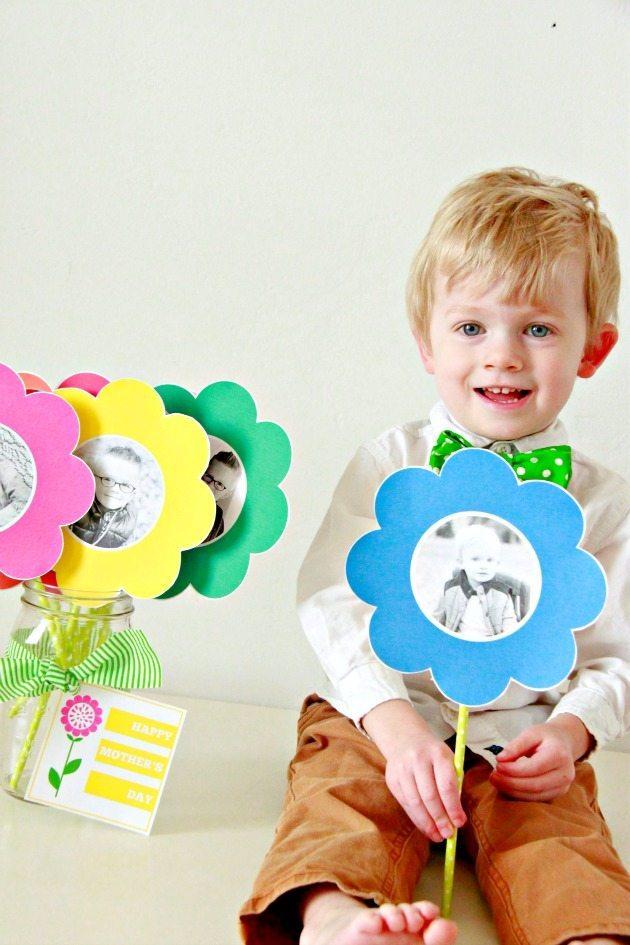 Photo Paper Flower Bouquet 6