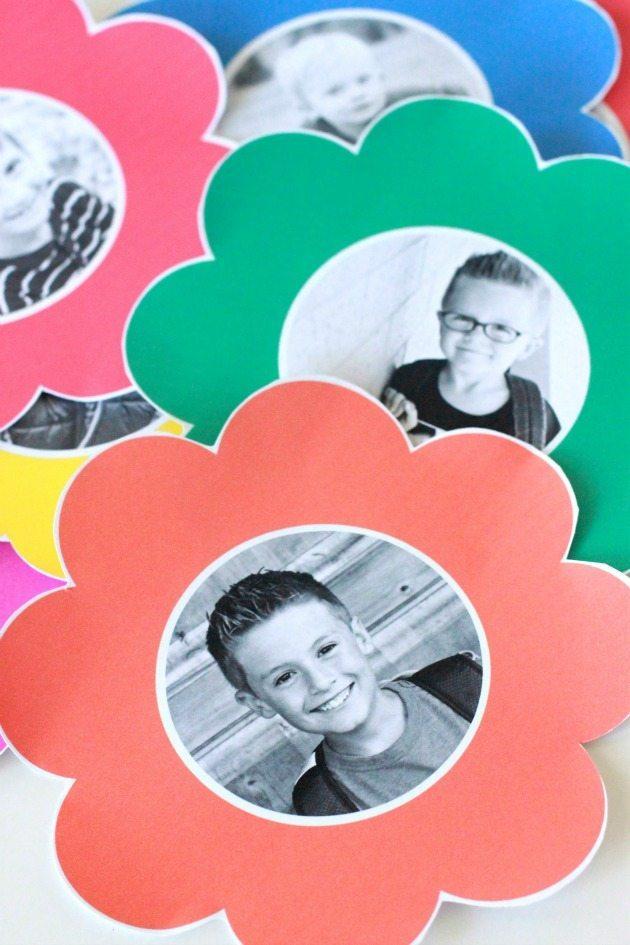 Photo Paper Flower Bouquet 7