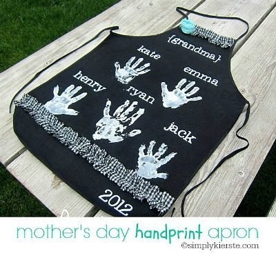 Mother's Day Handprint Gift Idea