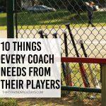 10 things every coach needs from his players ..www.thirtyhandmadedays.com