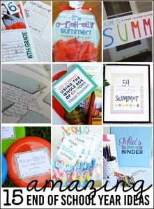 15 Amazing End of School Year Ideas to Make Happen