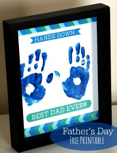 Father's Day Handprint Gift
