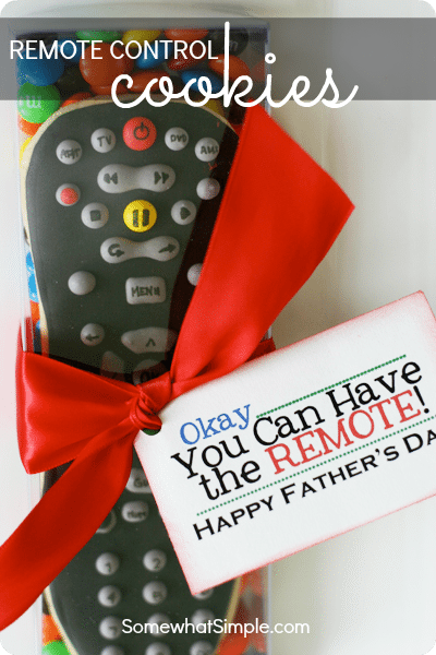 Father's Day Remote Cookie Gift