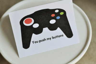 Xbox Father's Day Card Printable