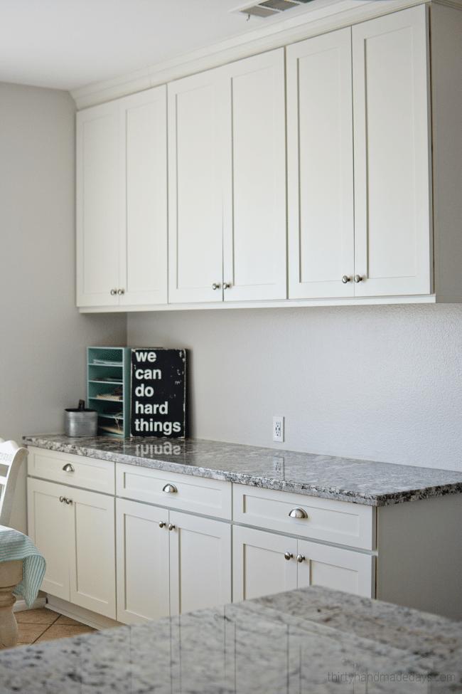 Desk area for kitchen remodel
