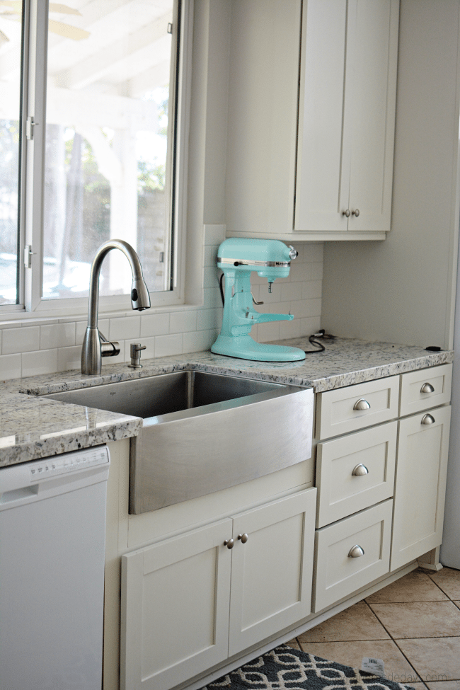The kitchen sink in new kitchen redo