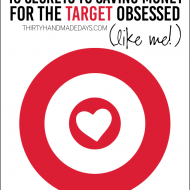 10 Secrets to Saving Money for the Target Obsessed (like me!)