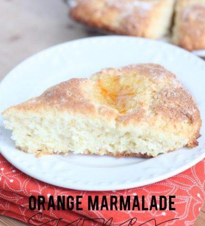 Orange Marmalade Scones by bebe a la mode designs