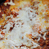 Simple Slow Cooker Lasagna