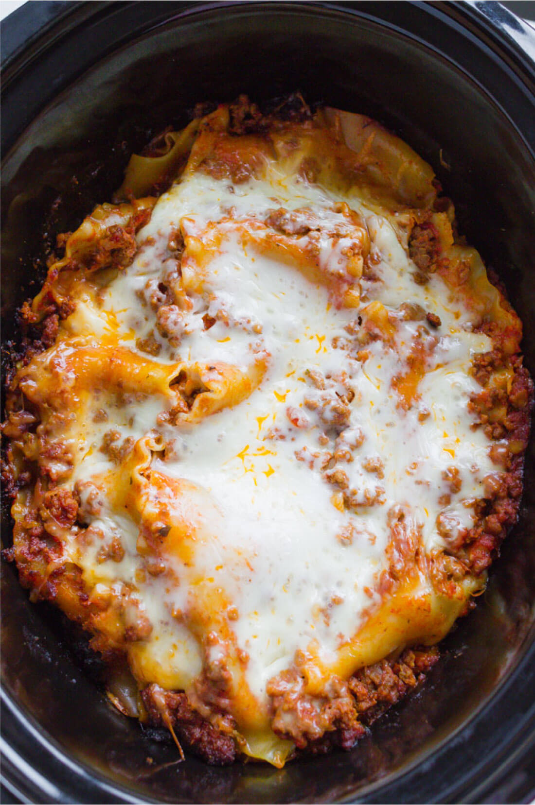 How to layer crockpot lasagna - an easy way to make lasagna!