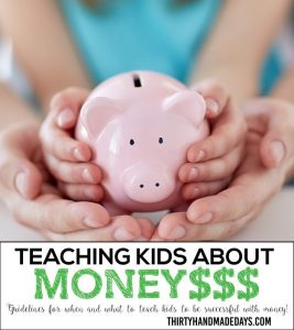 Teaching kids about money - guidelines for teaching kids about money to be successful