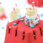 4th of July Firecracker Banana Pops