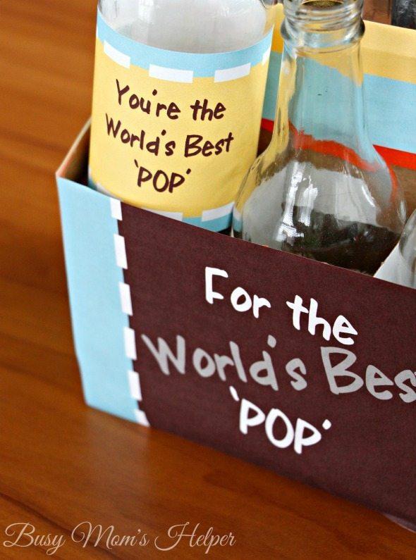 World's Best 'POP' Soda Bottle Pack Printable Set / by Busy Mom's Helper