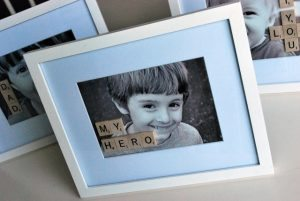 Fathers Day Scrabble Frame