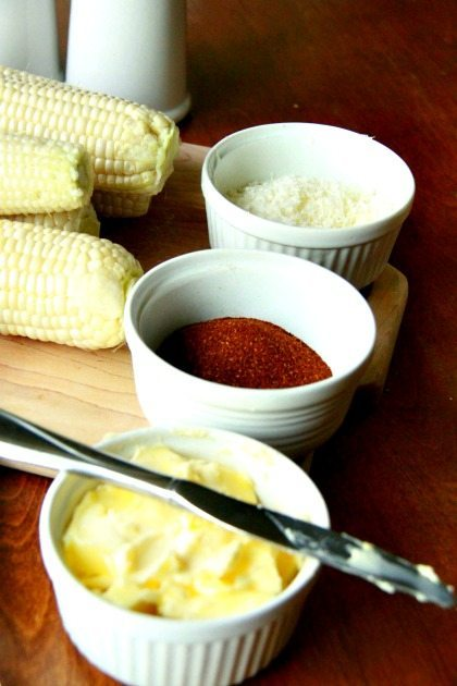 Slow Cooker Mexican Corn on the Cob 2