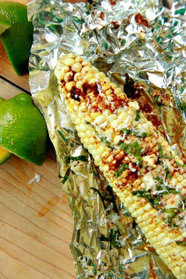 Slow Cooker Mexican Corn on the Cob 7