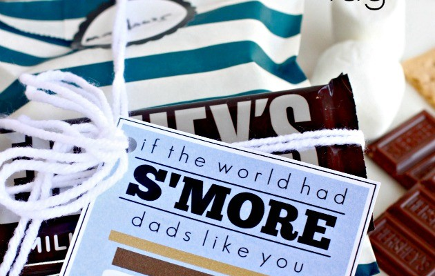 S'Mores Father's Day Tag