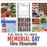Ways to Make Memorial Day Meaningful