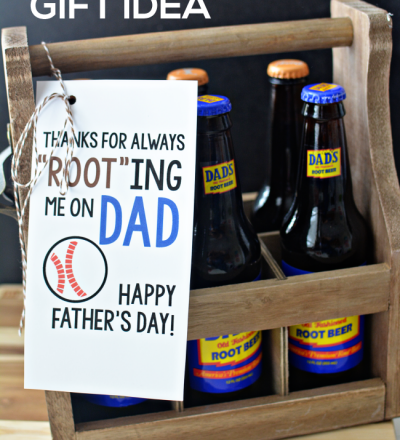 Father's Day Printable Root Beer Idea from www.thirtyhandmadedays.com
