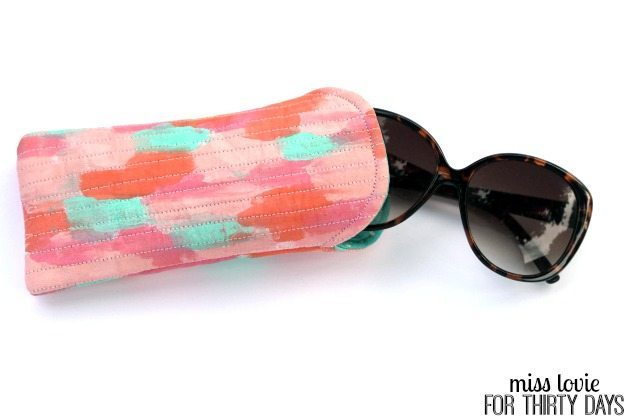 13 Abstract Art Eyeglasses Case DIY
