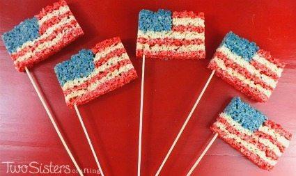 Delicious desserts for the 4th of July via thirtyhandmadedays.com
