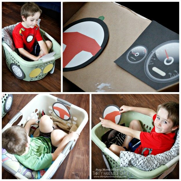 Printable Car Parts for a Drive-in Movie / www.busymomshelper.com for ThirtyHandmadeDays.com