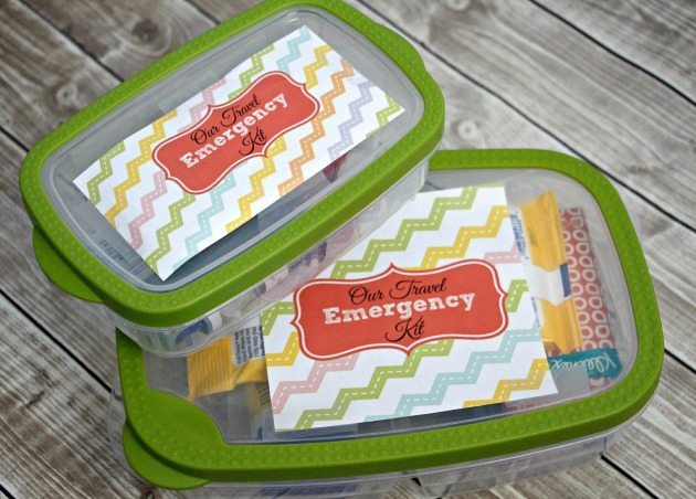 Travel Emergency Kit with Free Printables / by Busy Mom's Helper for ThirtyHandmadeDays.com