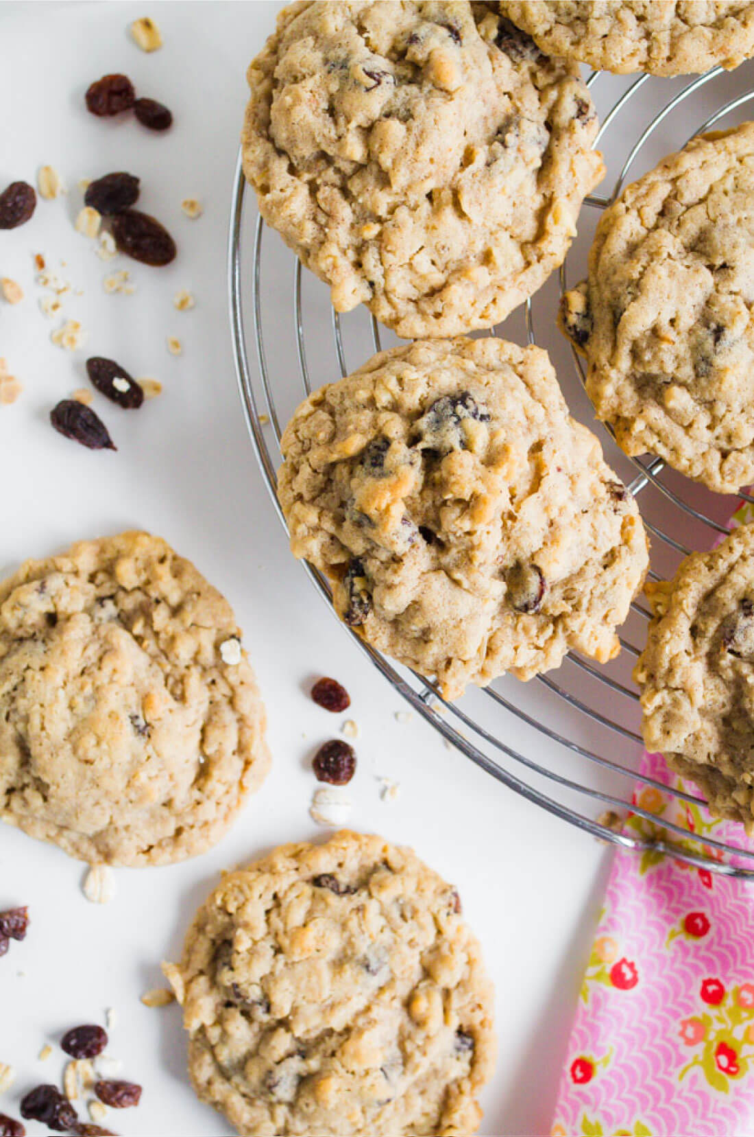 Oatmeal Raisin Cookies - the best cookies recipe you'll ever try from www.thirtyhandmadedays.com