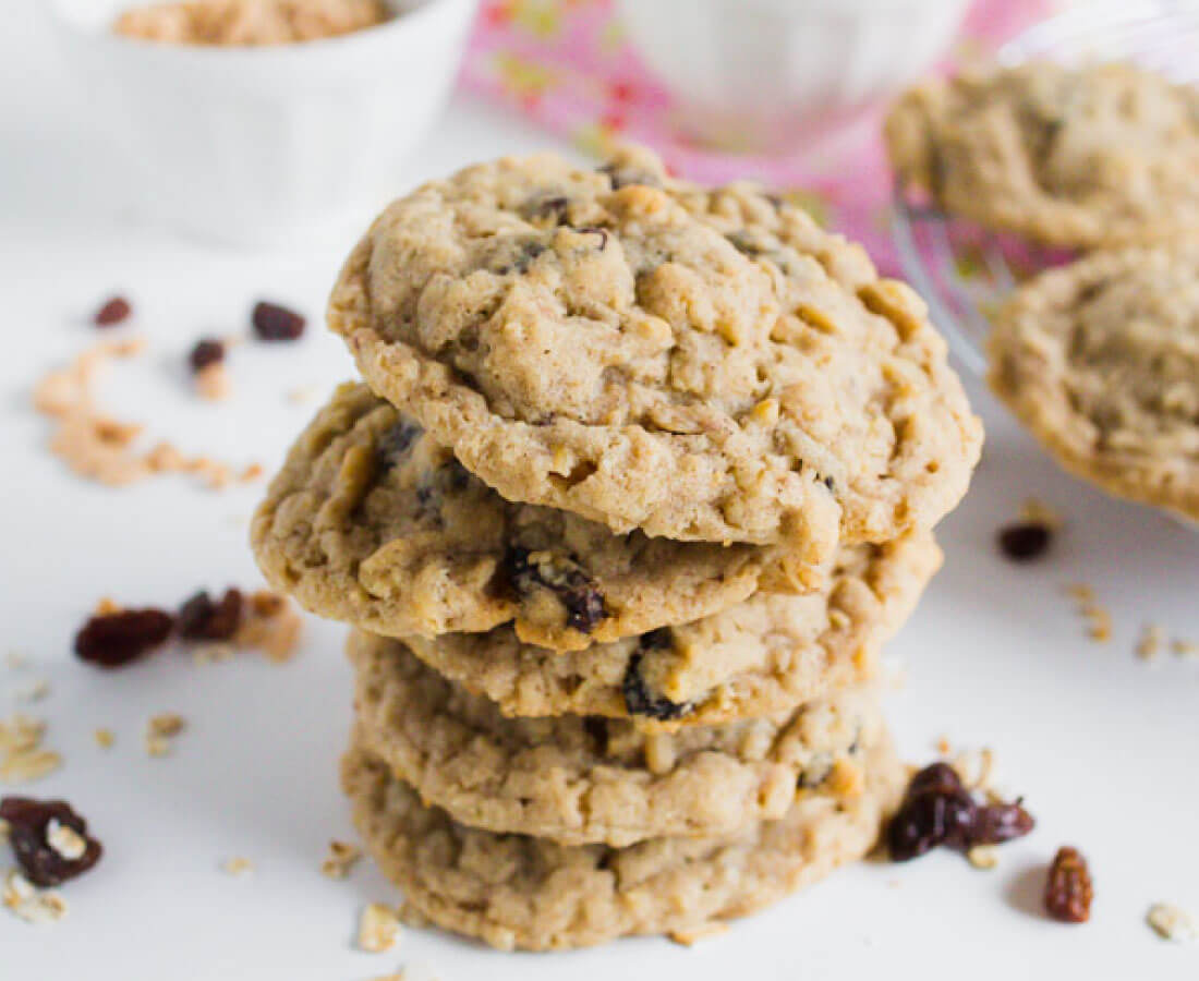 Oatmeal Raisin Cookies - the best cookies recipe you'll ever try.