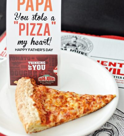 Papa You Stole a Pizza My Heart - fun Father's Day gift from Thirty Handmade Days