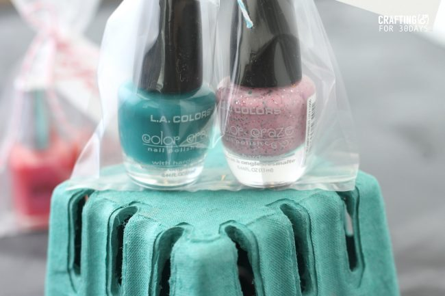 Nail Polish Gift Idea + Printable Tag from Emma of Crafting E