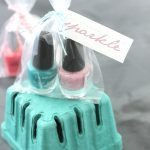 Nail Polish Gift Idea + Free Printable Tags