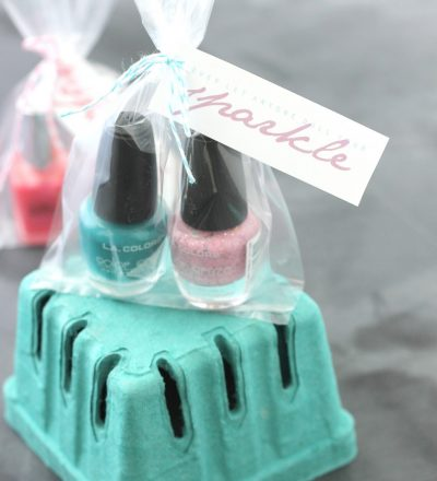 Nail Polish Gift Idea with Printable