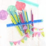 DIY Painted Pencil Cases With Nail Polish