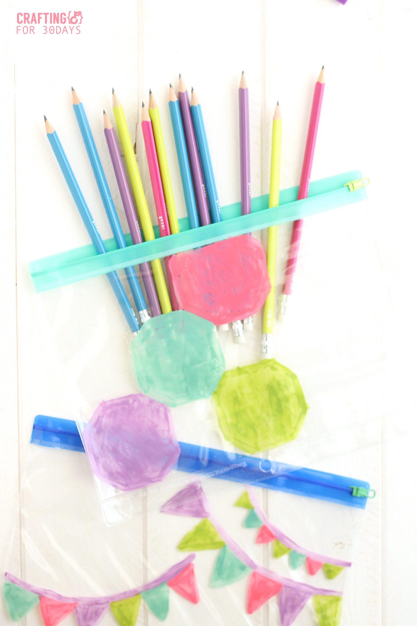 Diy Painted Pencil Cases