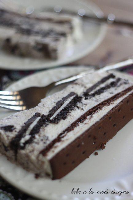 cookie and cream ice cream cake