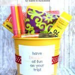 Road Trip Survival Bucket with Printable