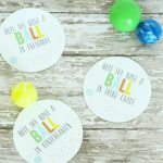 Have a Ball Back to School Printable