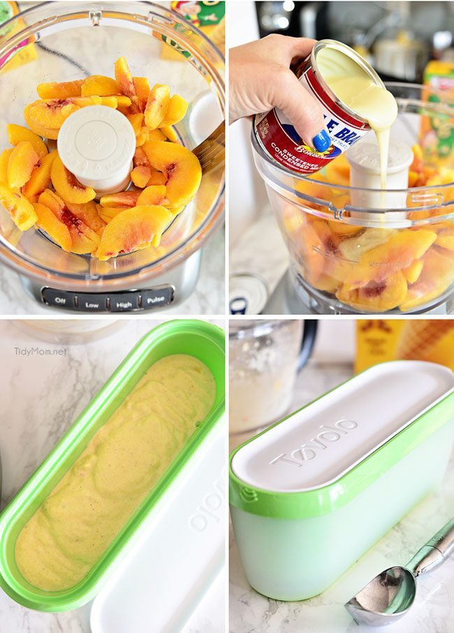 How to make sherbet from Tidy Mom for Funner in the Summer