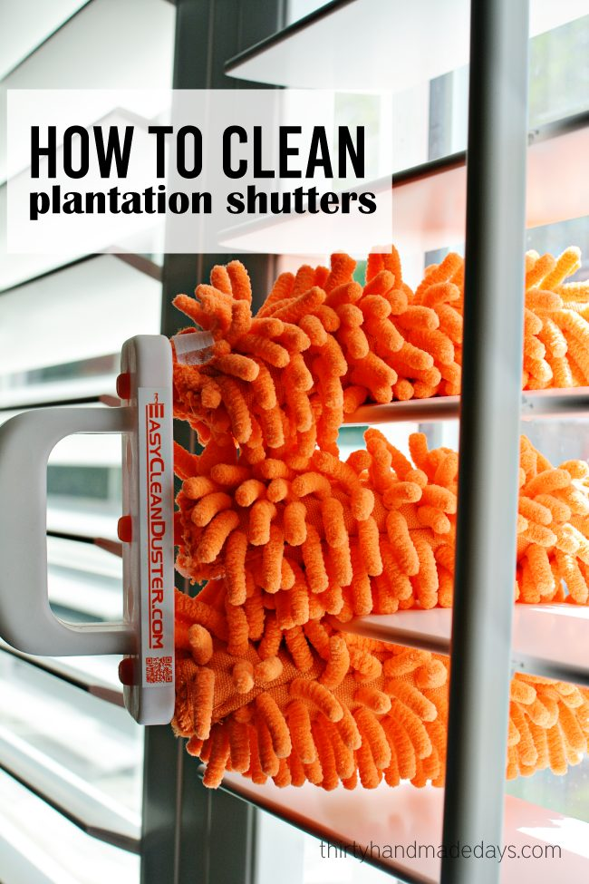 How To Clean Shutters Fall Cleaning List