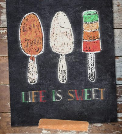 Life is sweet printable from I Should Be Mopping the Floor for Funner in the Summer