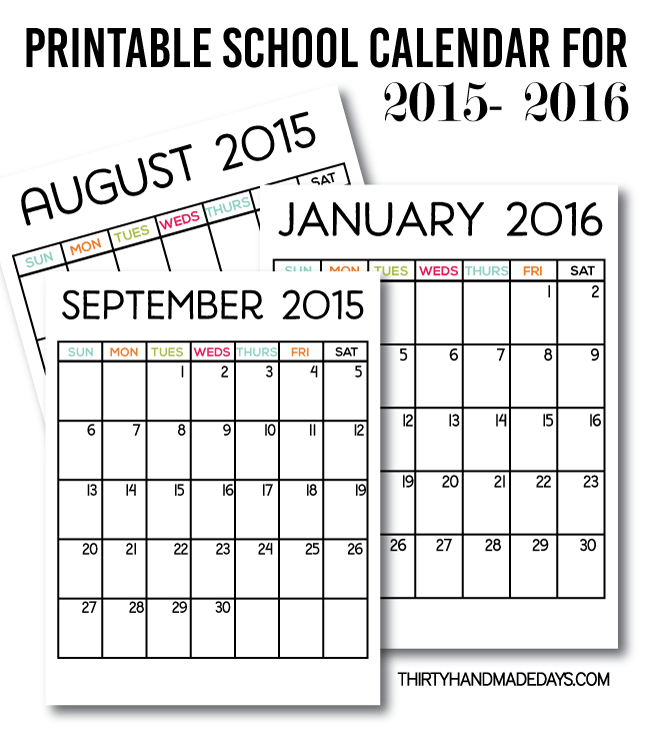 It's just a photo of Enterprising Printable Academic Planner