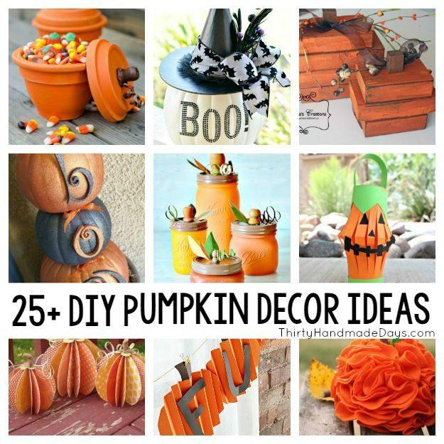 25 Diy Pumpkin Decorations