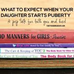What to expect when your daughter starts puberty - a pep talk for both you and her! www.thirtyhandmadedays.com