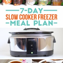 7-Day Slow Cooker Freezer Meal Plan