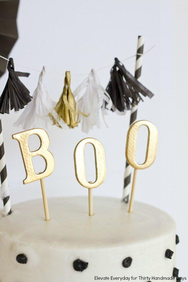 Boo Cake Topper