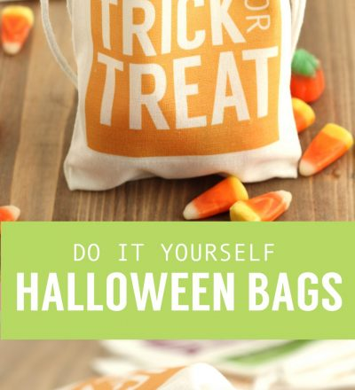 Do it yourself Halloween Bags from Crafting E
